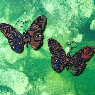 Genius Coco Candy Butterfly Earrings