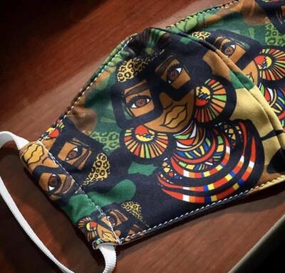 Maasai Coco Army Mask