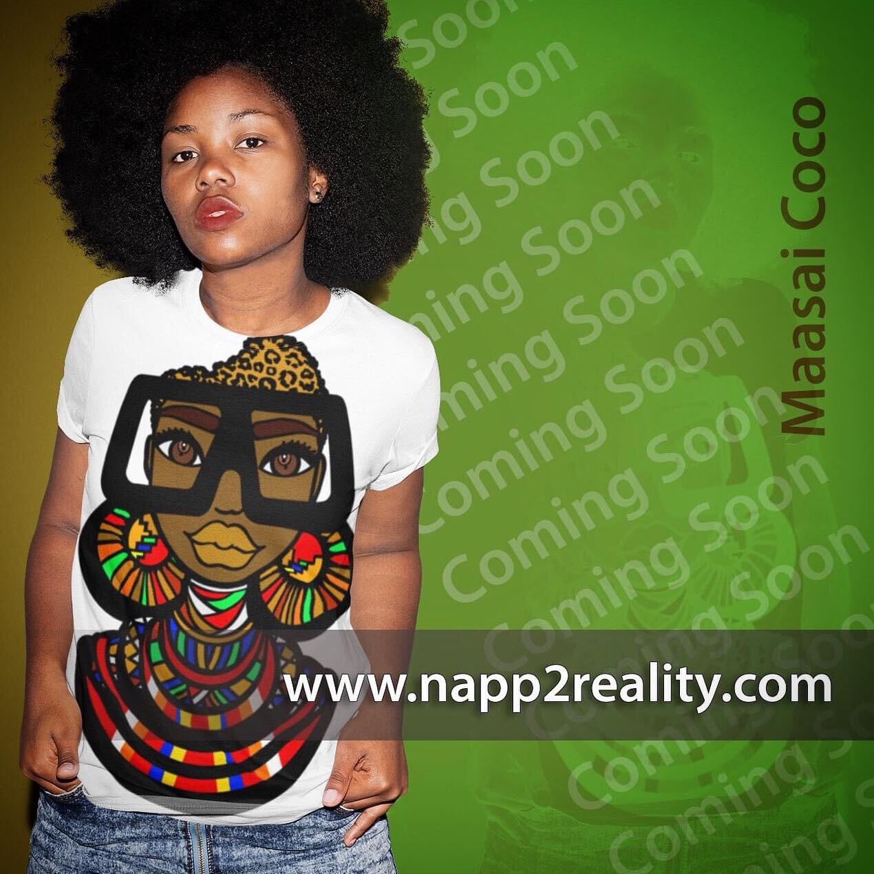 (Pre-order) Maasai Coco Shirt (ship date Sept 25, 2020)