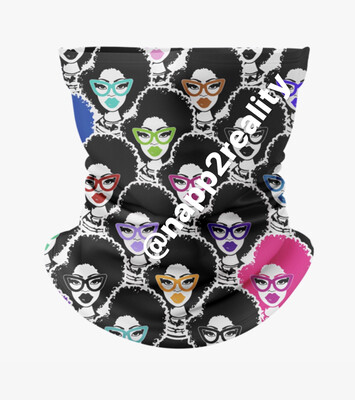(Pre-order) Fashion Fro face cover/headband Ship Date Oct 5, 2020