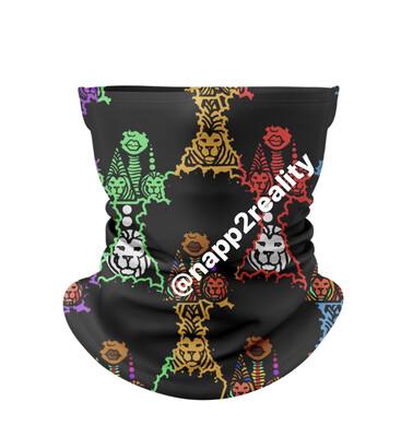 (Pre-order) Afrobulous Face cover/headband Ship Date October 5, 2020