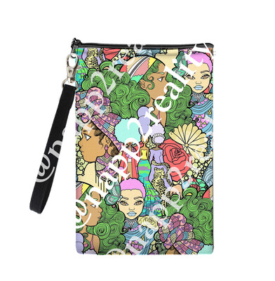 Afro Candy Land Cellphone Clutch