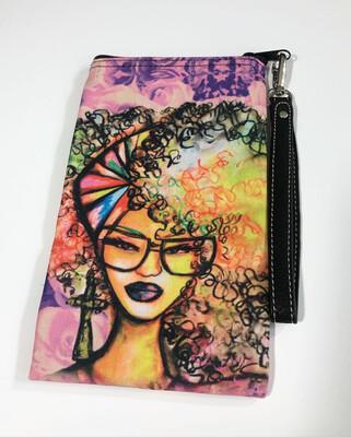 Beauty & Brains Cellphone Clutch