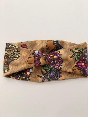 Loc Wrap Turban Headband