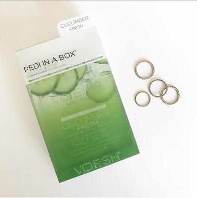PEDI IND A BOX: CUCUMBER FRESH