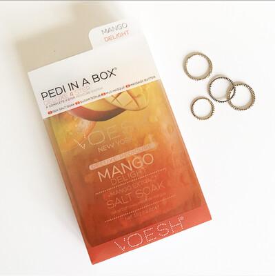 PEDI IND A BOX: MANGO DELIGHT