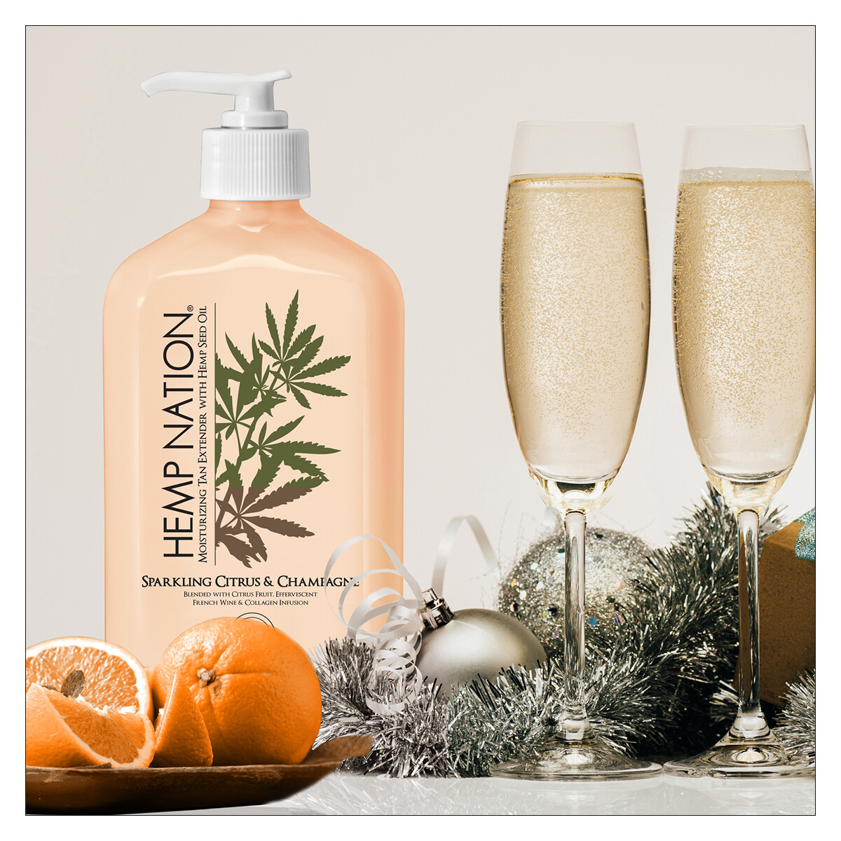 HEMP NATION - Sparkling Citrus & Champagne