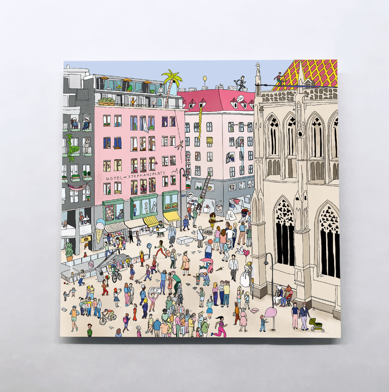 WIEN Karten – Little Stories (140x140mm)