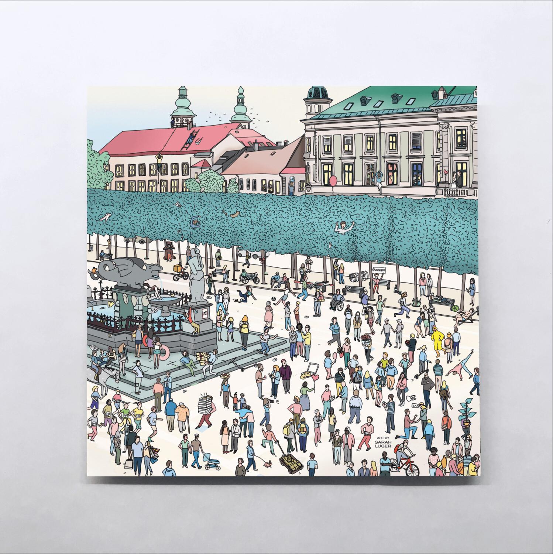 KLAGENFURT Karten – Little Stories (140x140mm)