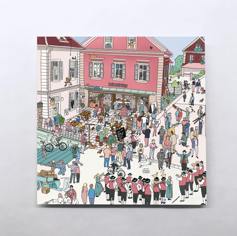 STRADEN Karten – Little Stories (140x140mm)