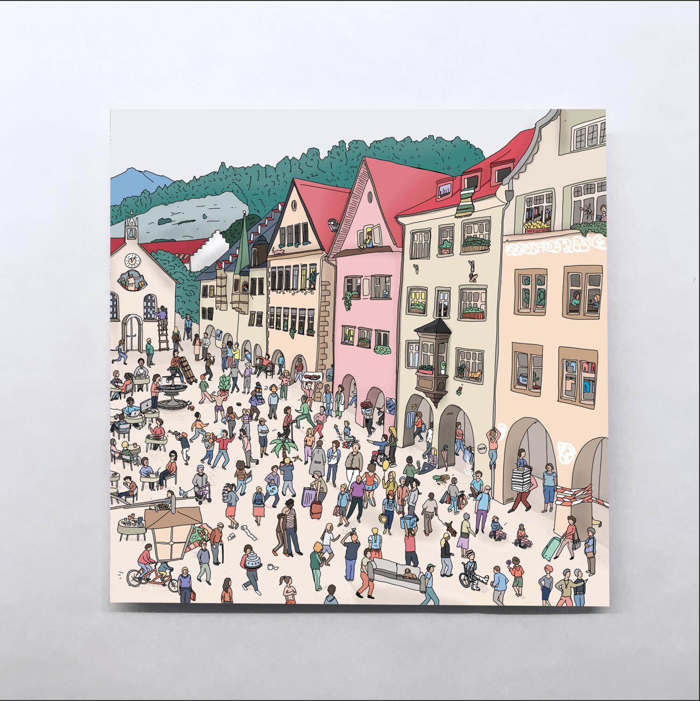 Feldkirch Karten – Little Stories (140x140mm)