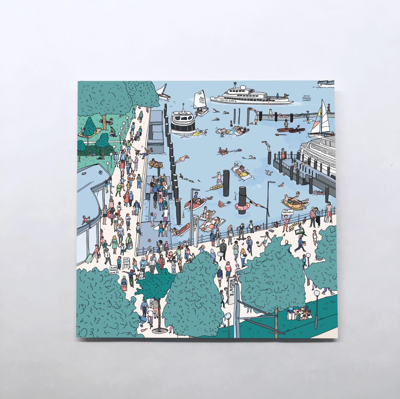 BREGENZ Karten – Little Stories (140x140mm)