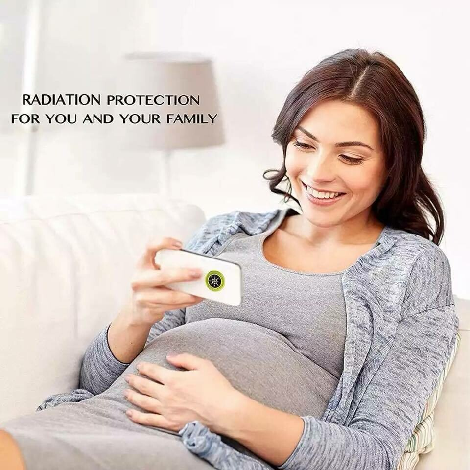Buy 2 pieces Anti Radiation Stickers for Mobile Phones