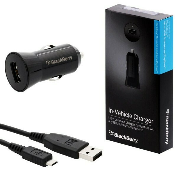 Genuine BlackBerry Micro USB Car Charger
