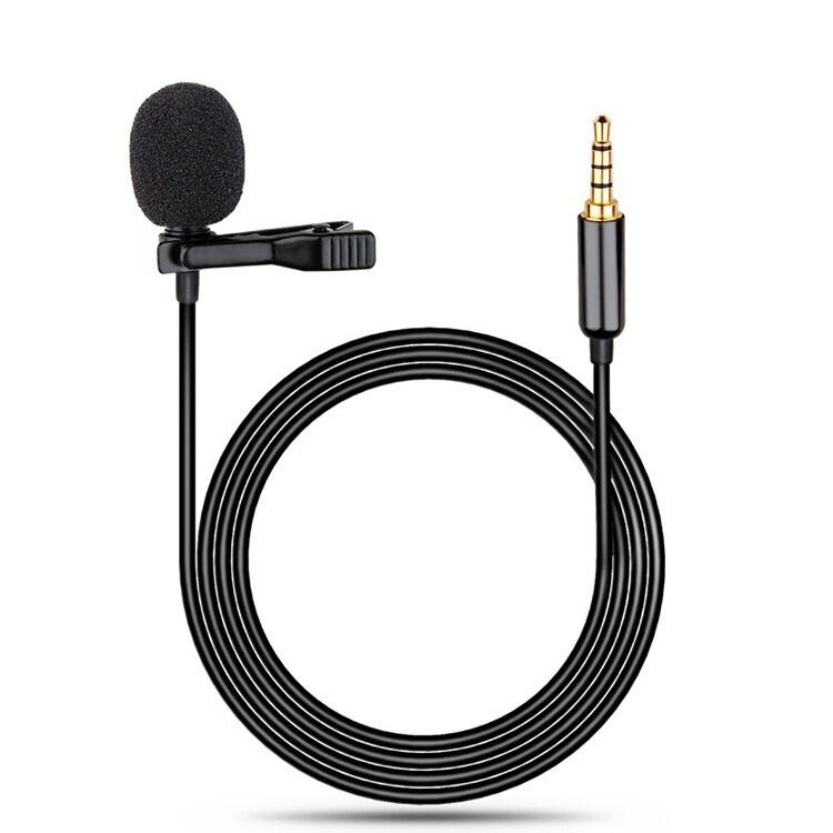 Portable Clip on Lapel Condenser microphone
