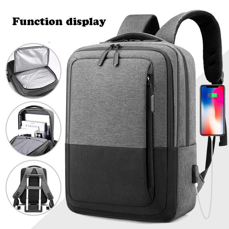 Dry & Wet Separation Waterproof Business Laptop Bag Backpack 15.6 Inch