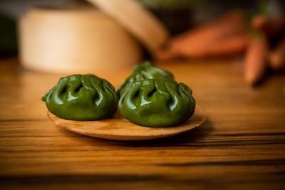 Juicy Vegan Potstickers (20) 養生素煎餃