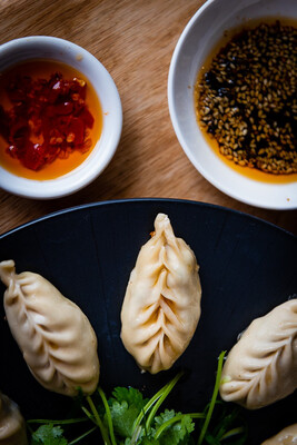 Coriander Chicken Dumplings/Potstickers (20)