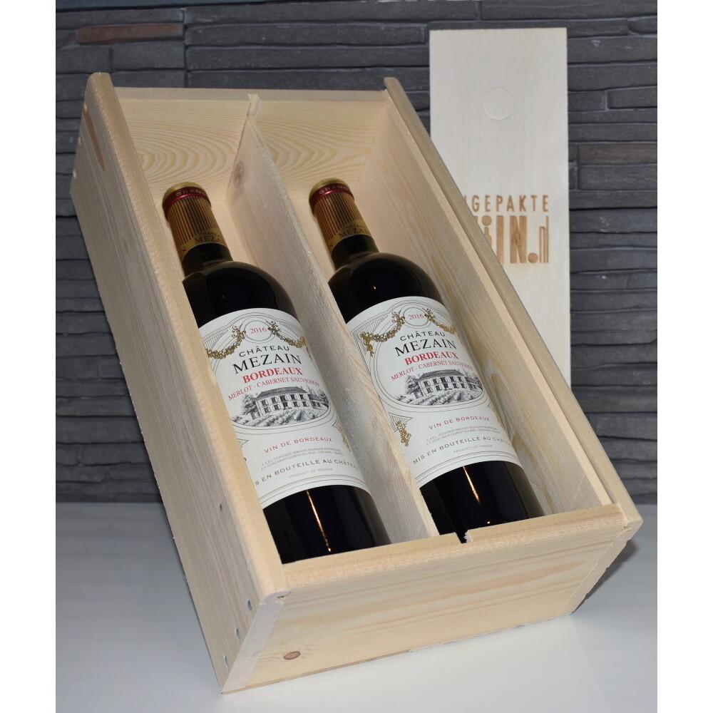 Mezain Bordeaux Merlot, 2 fles rood