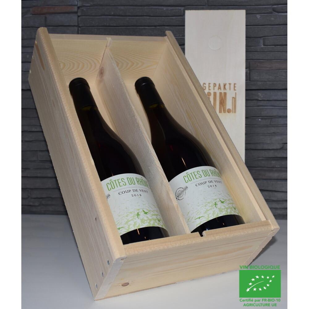 Coup de Vent Côtes du Rhône, 2 fles rood