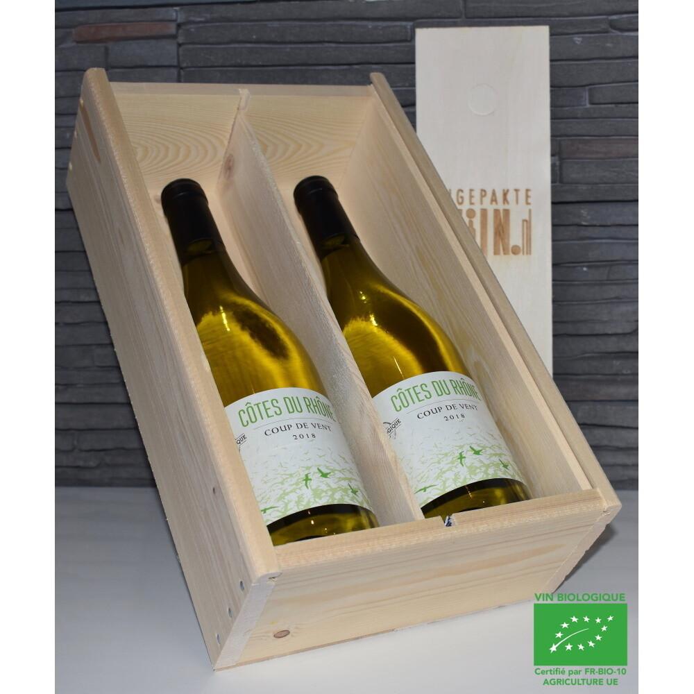 Coup de Vent Côtes du Rhône, 2 fles wit