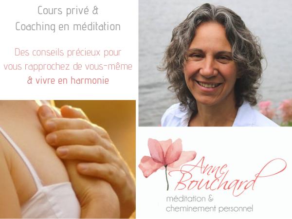 Consultation individuel ou cours privé de méditation en ligne