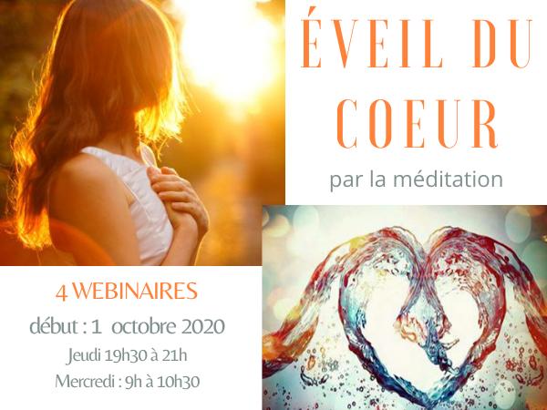 Éveil du coeur par la méditation en Février 2021