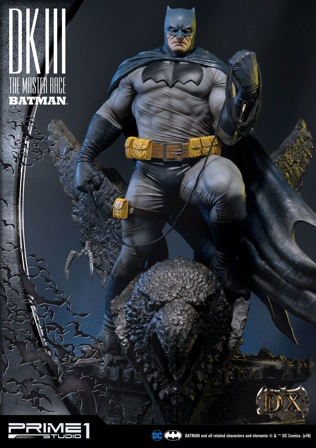 Prime 1 1:3 Scale Batman from The Dark Knight III: The Master Race (Dlx Ver)