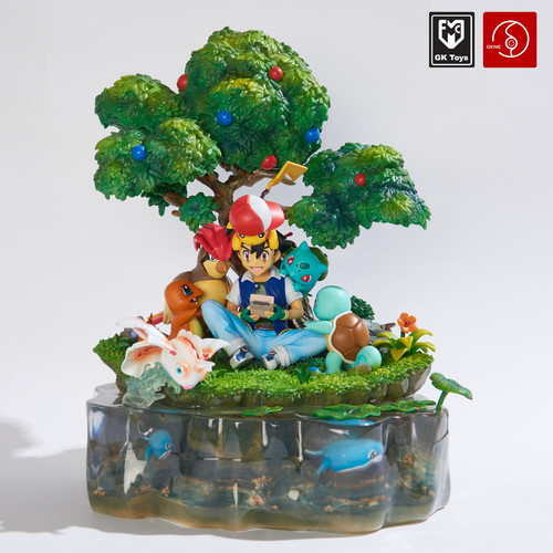 MFC x Gene studio - Pokemon The begin Diorama