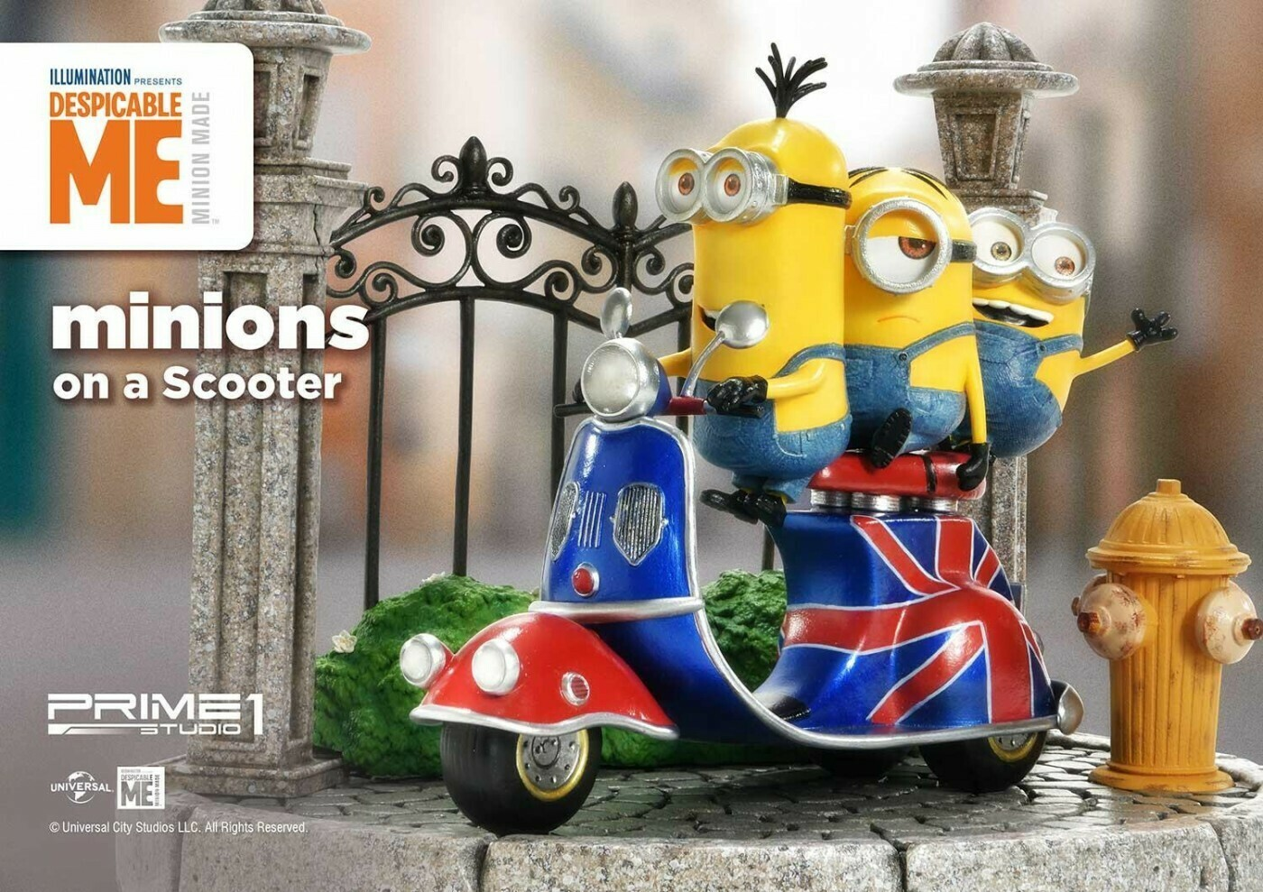 (PO) - Prime 1 - Minions (Pack of 4)