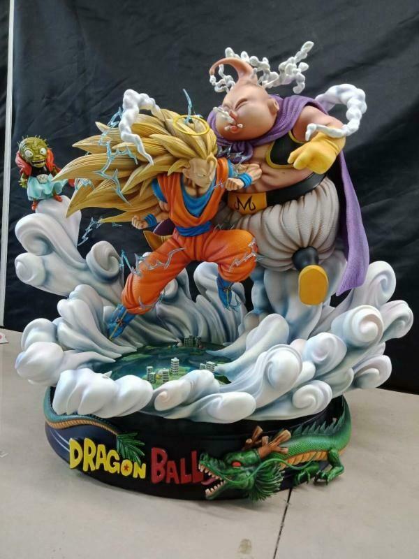 (PO) Lu Yan – SSj3 Goku vs Fat Buu