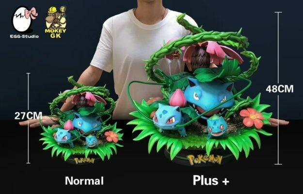 (PO) Egg Studio - Bulbasaur Family
