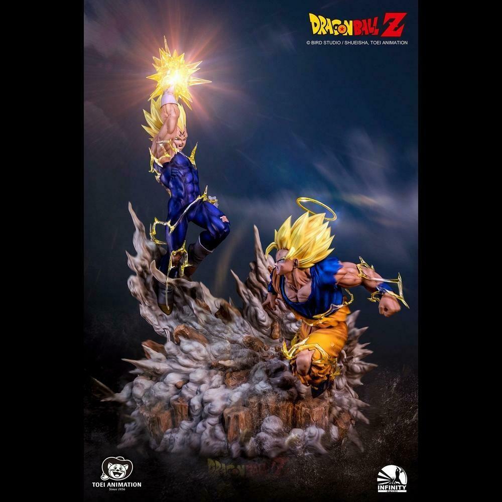 (PO) Infinity Studios - SS2 Goku vs Majin Vegeta