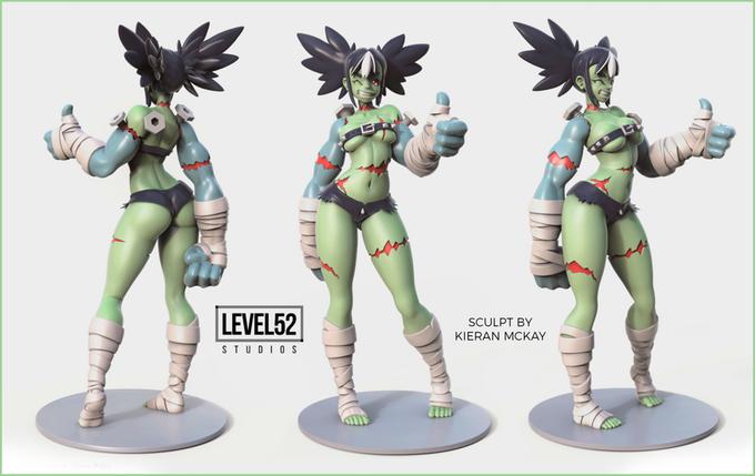 (In Stock) - Level 52 Studio - MOKO Monster Girls - Frankie