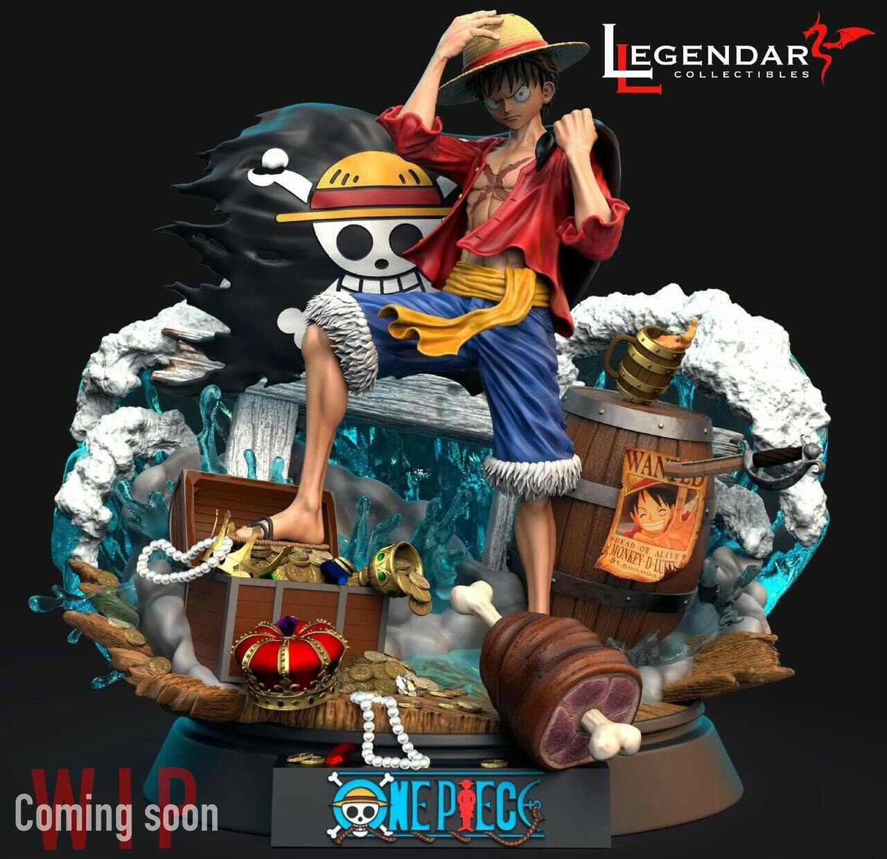 (PO) Legendary Collectibles - Luffy
