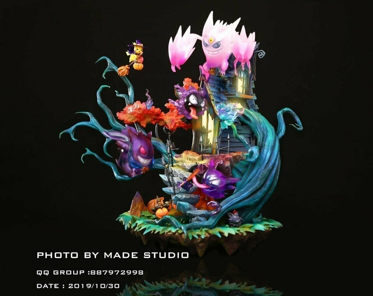 (PO) Made Studios - Pokemon Happy Halloween