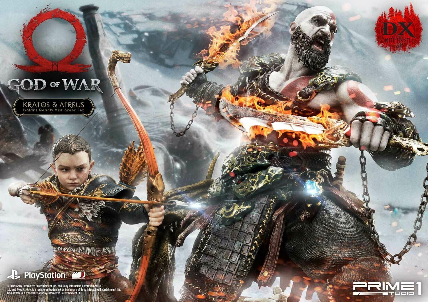 (PO) Prime 1 - Kratos & Atreus