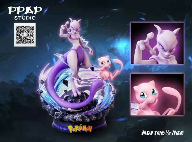 (PO) PPAP Studio - Mewtwo & Mew