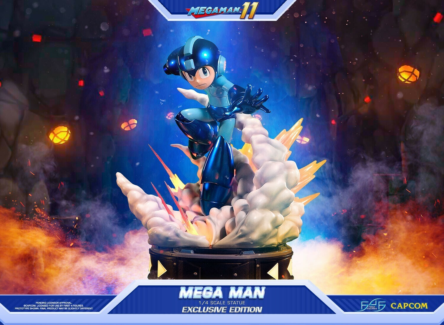 (PO) First 4 Figures - Megaman Exclusive