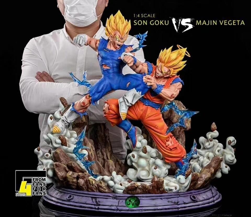 (PO) F4 Studio - Goku vs Majin Vegeta (1/4)