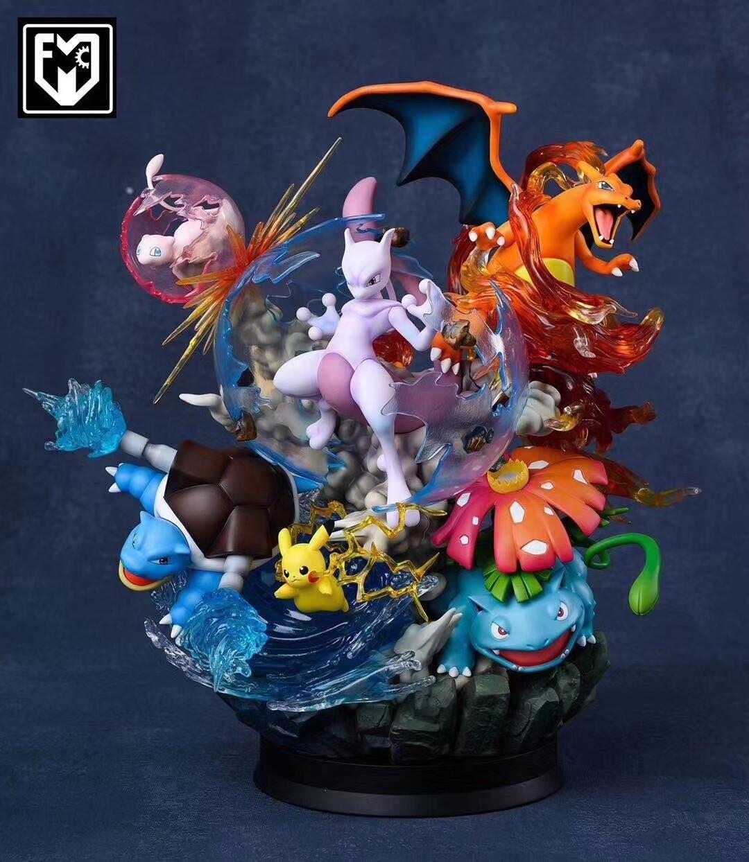 (PO) MFC Studio - Mewtwo Strikes Back Diorama