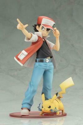(In Stock) Kotobukiya - Red e Pikachu