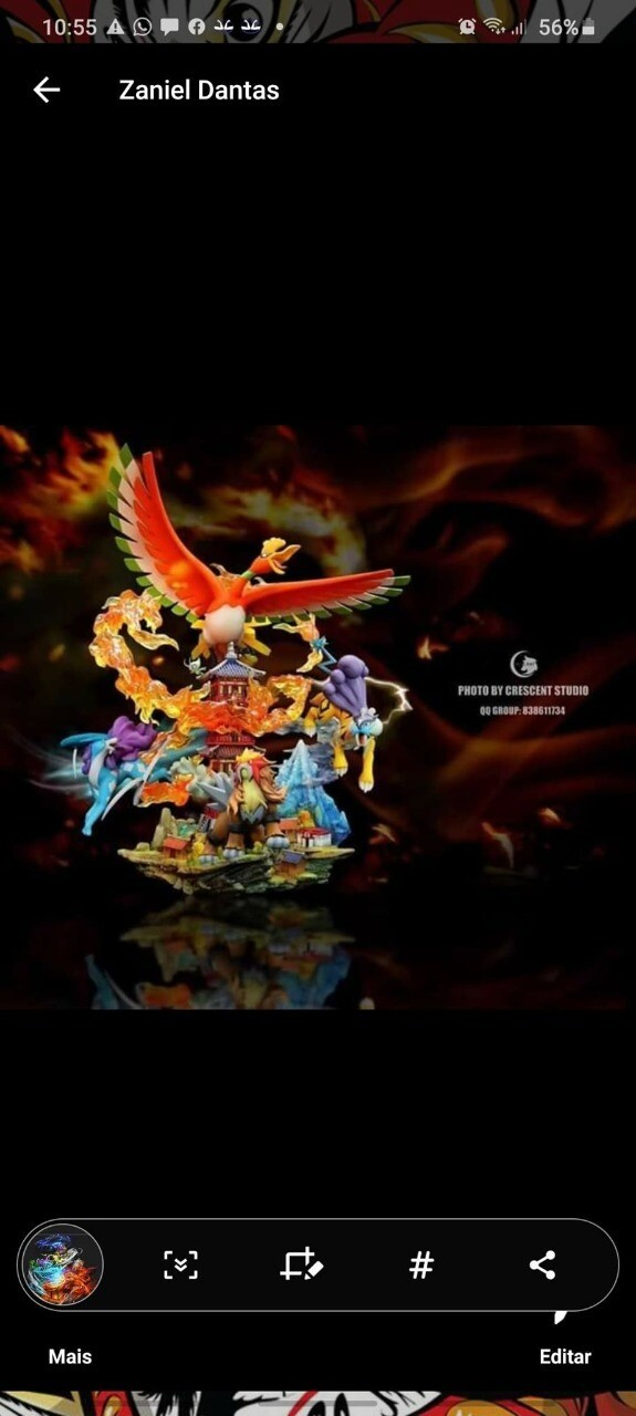 (PO) Crescent-Studio Ho-Oh and Three sacred