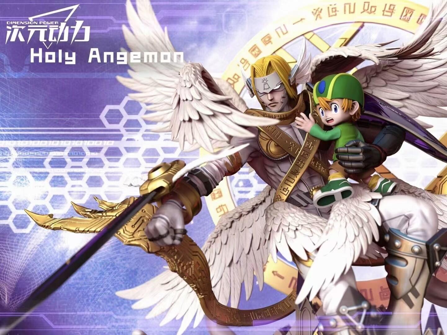 (PO) Dimension Power - Holy Angemon