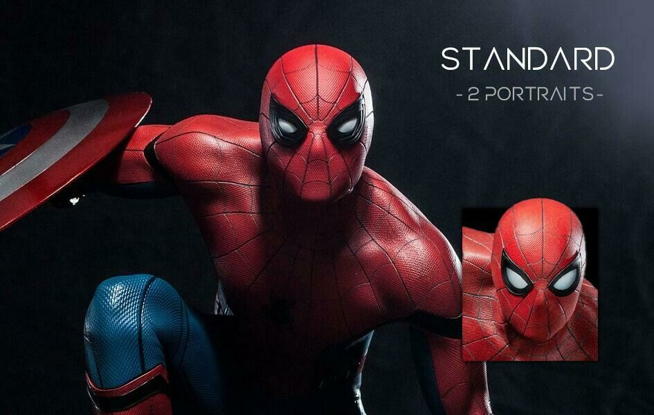 (PO) Queen Studios - Spiderman (Ver Reg)