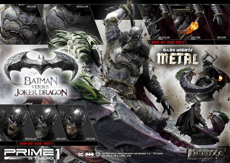 (PO) Prime 1 - Batman Versus Joker Dragon Deluxe Version