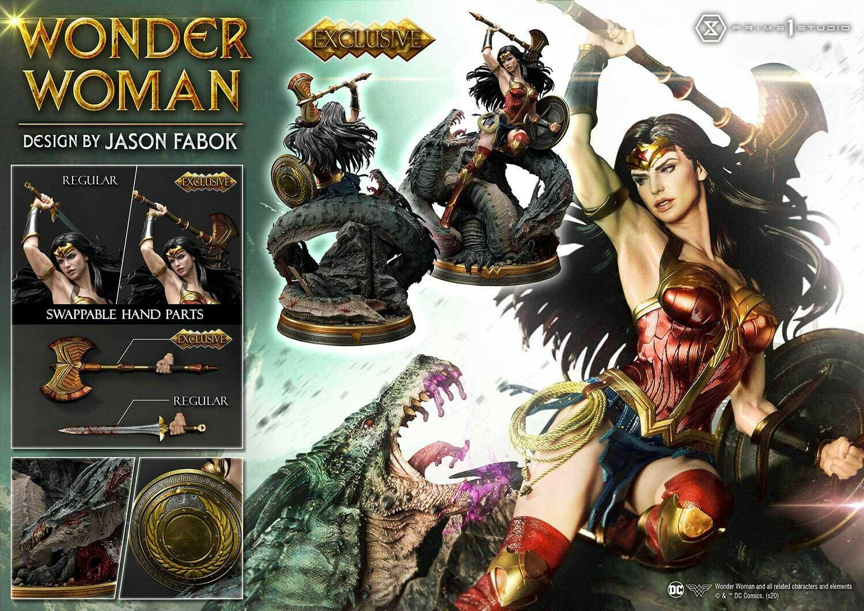 (PO) Prime 1 - Wonder Woman Versus Hydra (EX)