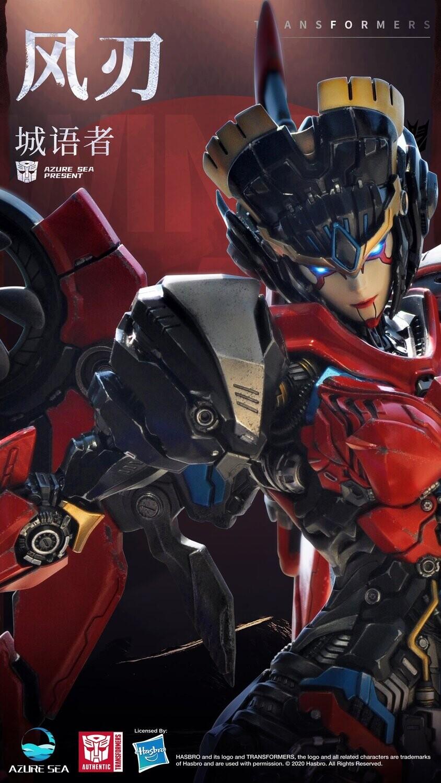 (PO) Azuresea Studio - Transformers Windblade