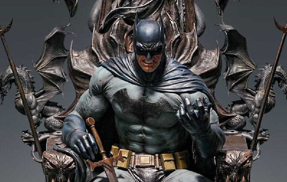 (PO) Queen Studios - Batman on Throne (Premium Version)