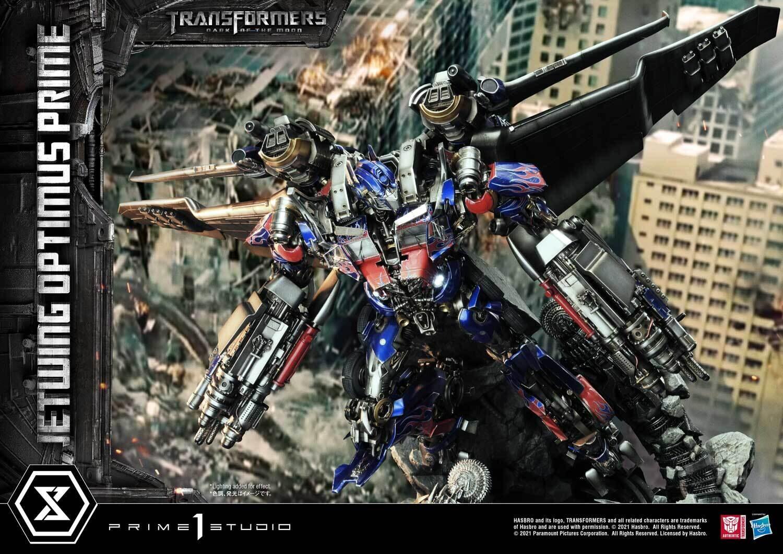 (PO) Prime 1 - Transformers - Jetwing Optimus Prime (Bonus Version)